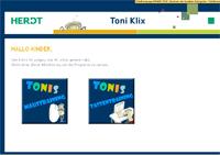 Toni Klix -Maus- und Tastaturübungen